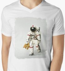 Space can be lonely Men's V-Neck T-Shirt