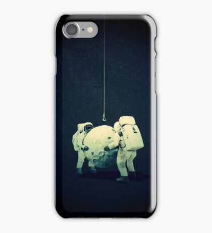 Hanging the moon  iPhone Case/Skin