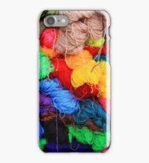 Colorful Yarn iPhone Case/Skin