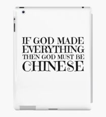 Atheist Humour Ironic Funny Comedy God Religion iPad Case/Skin