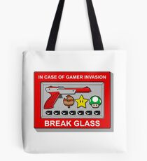 In case of Gamer Invasion Tote Bag