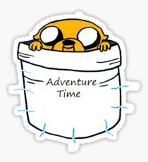 Adventure Time Jake Sticker