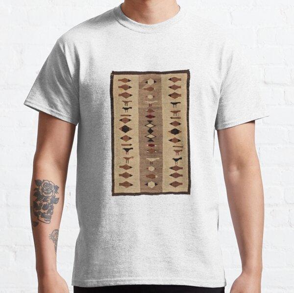 NAVAJO WEAVED PICTORAL ART ANIMAL FIGURES 1920 Classic T-Shirt