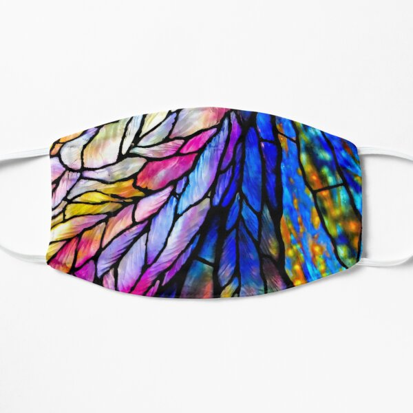 Stained Glass by Louis C. Tiffany Flat Mask