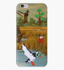 Flock of 8 bits iPhone Case