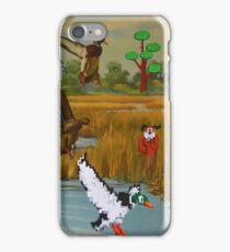 Flock of 8 bits iPhone Case/Skin