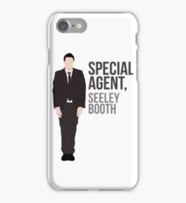 Special Agent Seeley Booth iPhone Case/Skin