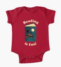 Lesen macht Spaß Baby Body Kurzarm