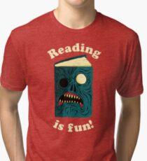 Reading is Fun Tri-blend T-Shirt