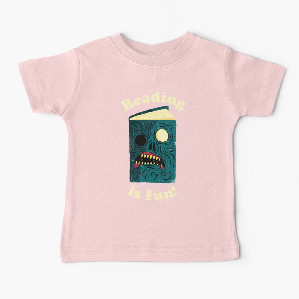 Reading is Fun Baby T-Shirt