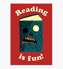 Reading is Fun Photographic Print