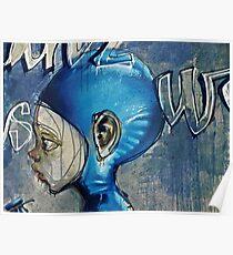 Feeling blue? Poster