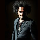 Lemn Sissay MBE by Dave Hiskey