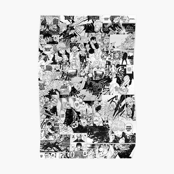 Jujutsu Kaisen Poster Poster