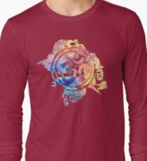colorful ohm elephant logo T-Shirt