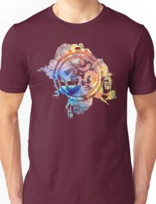colorful ohm elephant logo Unisex T-Shirt