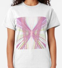 Linify Pink butterfly Classic T-Shirt