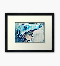 Being Damian Hirst Framed Print