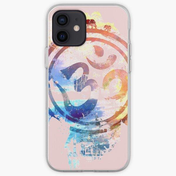 colorful ohm elephant logo iPhone Soft Case