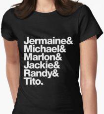 Die Jacksons - Vergessen Sie nicht Randy! Tailliertes T-Shirt für Frauen