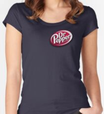 Dr. Pepper Women's Fitted Scoop T-Shirt
