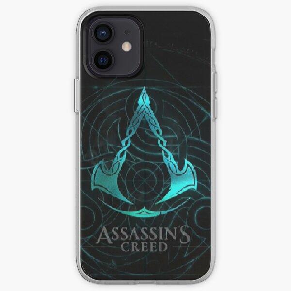 Assassins Creed Valhalla Funda blanda para iPhone