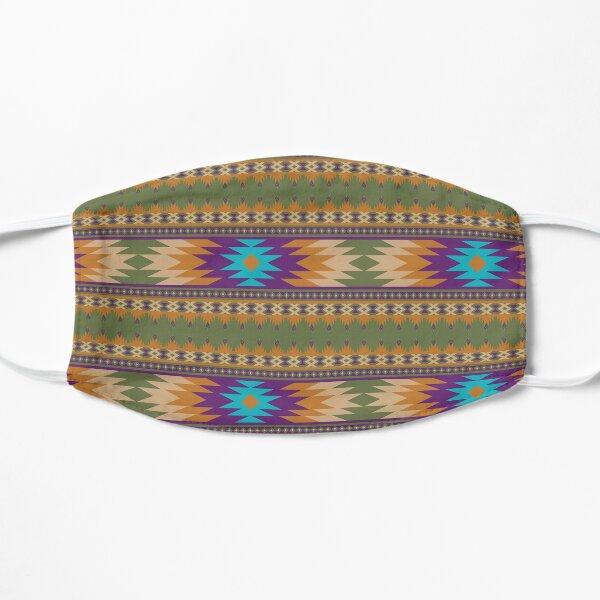 ethnic, ikat, pattern, floral, batik, carpet, design, motif, texture, african, boho, embroidery, abstract, Flat Mask