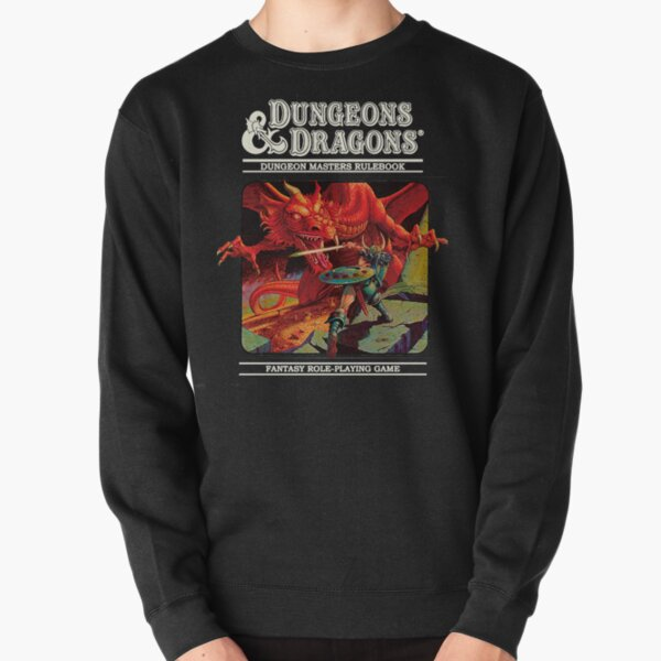 Dungeons and Dragons - DM rulerbook Cover  Pullover Sweatshirt