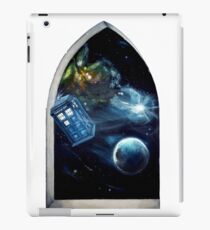 Whovian window :)  iPad Case/Skin