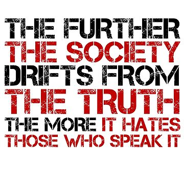 George Orwell Quote Free Speech Truth Political by LukaMatijas