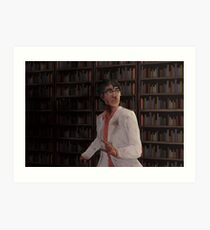 WTNV - Carlos and the Library Art Print