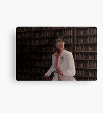 WTNV - Carlos and the Library Canvas Print