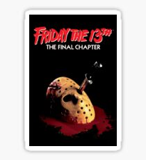 Friday The 13th - The Final Chapter Sticker Sticker