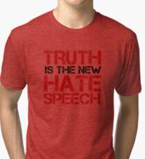 Truth Free Speech Political Offensive Liberty Freedom Tri-blend T-Shirt
