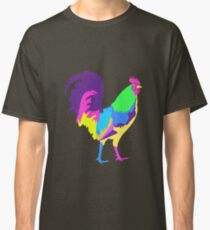 Psychedelic Chicken Classic T-Shirt