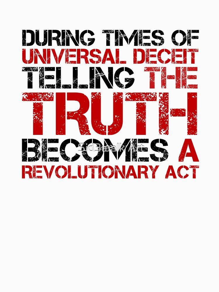 George Orwell Quote Truth Freedom Free Speech by LukaMatijas