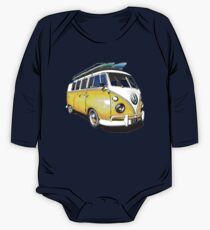 VW Bus Sunshiney day One Piece - Long Sleeve