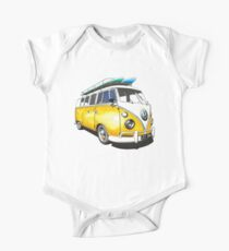 VW Bus Sunshiney day One Piece - Short Sleeve