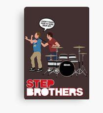 STEP BROTHERS DRUM SET Canvas Print