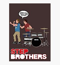 STEP BROTHERS DRUM SET Photographic Print