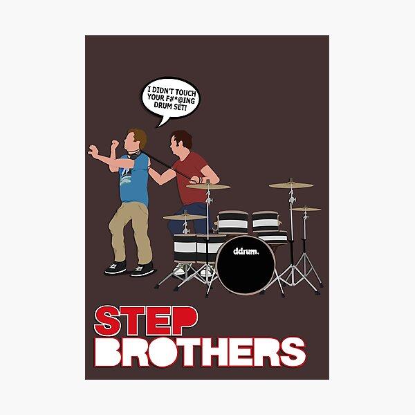 STEP BROTHERS DRUM SET Photographic Print