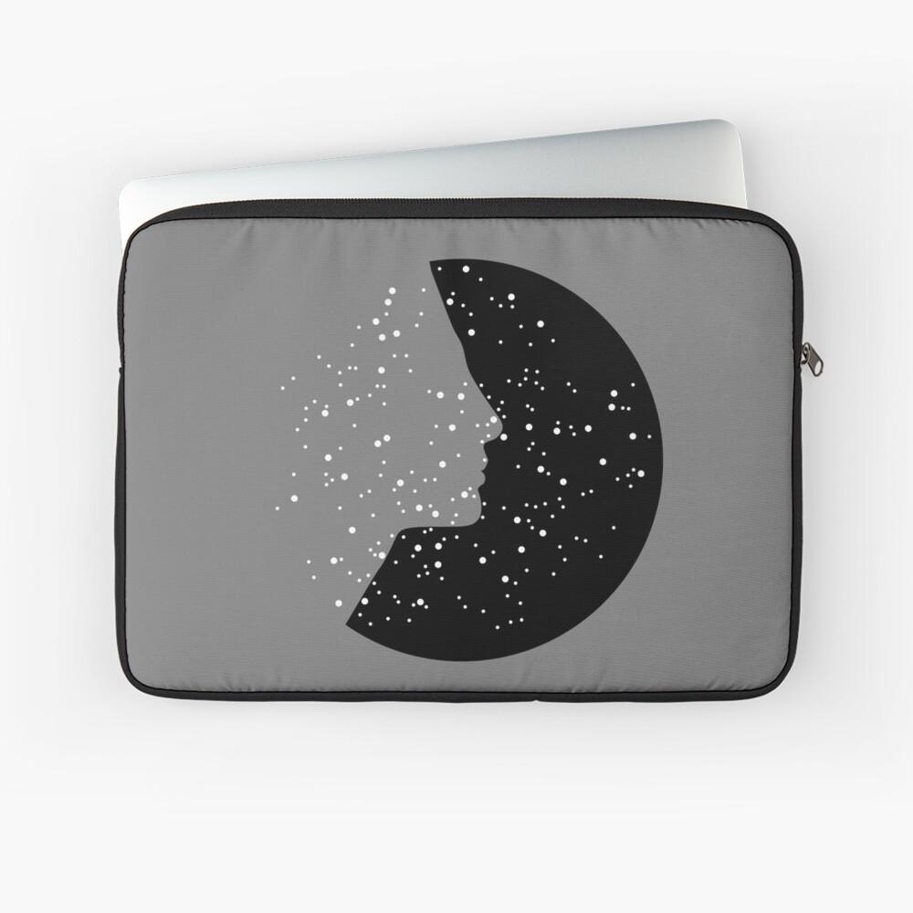 MC Nefertiti Black Laptop Sleeve