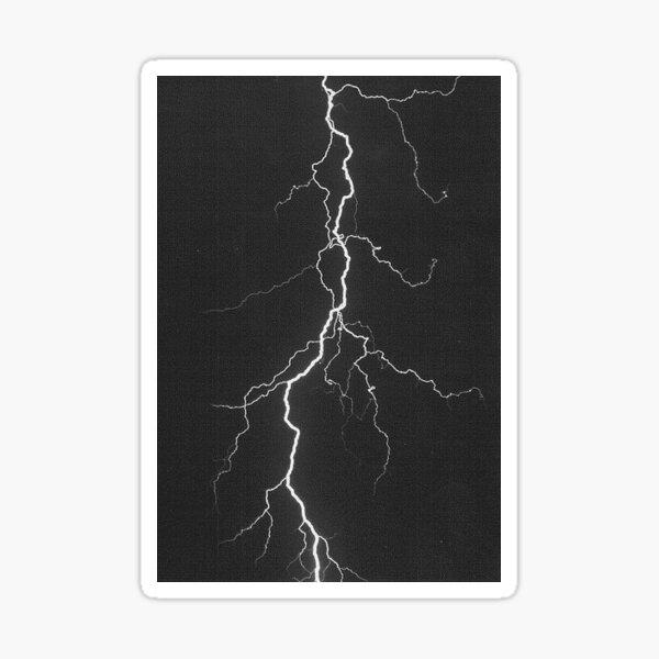 lightning aesthetic Sticker