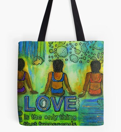 Three on the Beach Tote Bag