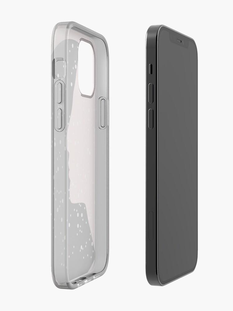 Alternate view of MC Nefertiti Black iPhone Case & Cover