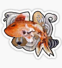 Watercolor Koifish Sticker