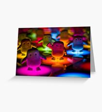 Adipose on the Dance Floor Greeting Card