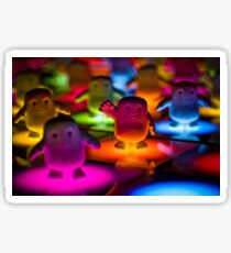 Adipose on the Dance Floor Sticker