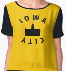 Iowa City Chiffon Top