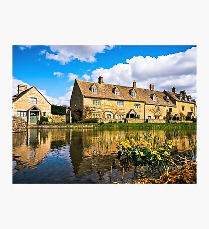 Lower Slaughter (The Cotswolds) Photographic Print